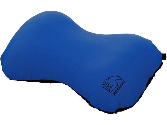 Nordisk Aften Pillow Maapähkinä, blue/black